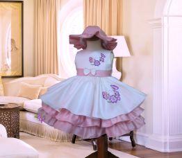 μοναδικό ζωγραφισμένο φόρεμα