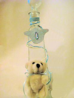 Μπουκάλι Βάπτισης Αρκουδάκι